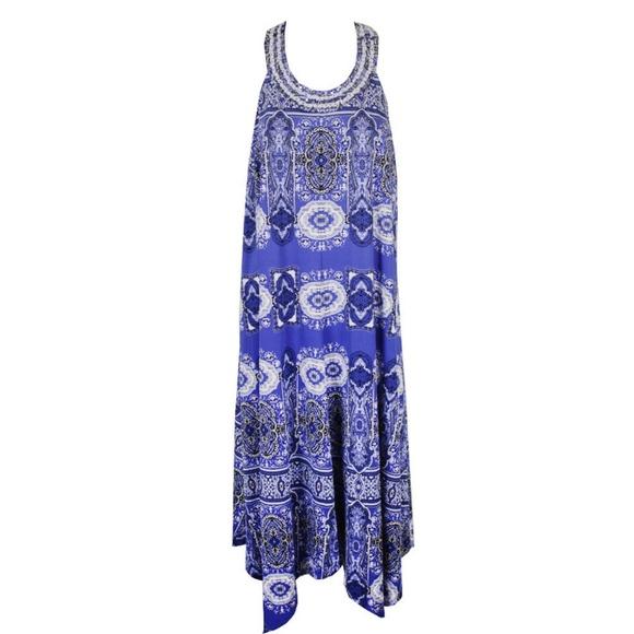 Inc International Concepts Plus Size Blue Dress Boutique